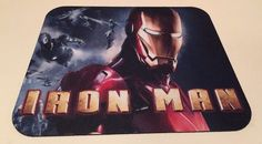 Iron Man Marvel Anti Slip Ultra Thin Gamer Pictorial Mouse Pad Phat Graphix | eBay