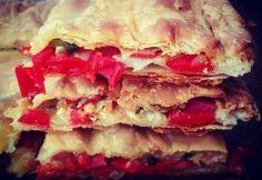 Εύκολη πίτα Sandwiches, Vegan, Food, Essen, Paninis, Yemek, Meals
