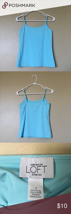 {LOFT} NWOT Cerulean Camisole Classic LOFT camisole, never worn (new without tags), in flawless condition. LOFT Tops Camisoles