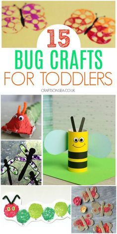 bug crafts for toddlers preschool Easy and fun bug crafts for toddlers perfetct for one, two and three year olds with butterfly crafts, ladydybird crafts, dragonfly crafts, bee crafts and more. Arts And Crafts For Teens, Art And Craft Videos, Easy Arts And Crafts, Art For Kids, Crafts For Kids, Crafts With Toddlers, Toddler Preschool, Toddler Crafts, Preschool Crafts