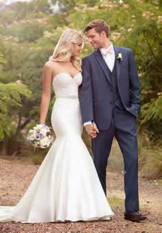 Strapless Mermaid Wedding Dress | Style D2202 by Essence of Australia | http://trib.al/DtZAKqT
