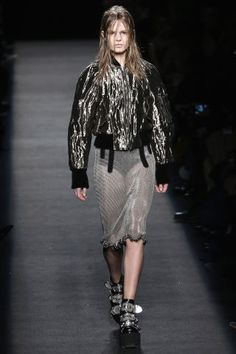 Alexander Wang Fall 2015. See the all best runway looks from NYFW here:
