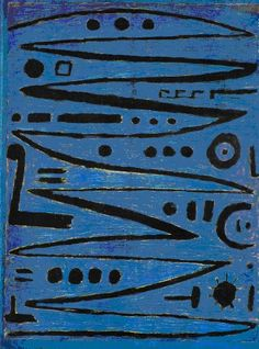 Paul Klee Heroische Bogenstriche (Heroic Strokes of the Bow), 1938 Pigmented paste on newspaper on dyed cloth on board (in artist's frame). (Museum of Modern Art, New York) (Image © 2017 Artists Rights Society (ARS), New York / VG Bild-Kunst, Bonn) Paul Klee Art, Wassily Kandinsky, Bauhaus, Canvas Artwork, Famous Artists, Oeuvre D'art, Art History, Modern Art, Abstract Art