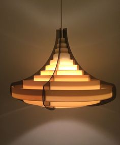 Buy Brylle Jacobsen Space Age pendant by deerstedt. Explore more products on http://deerstedt.etsy.com