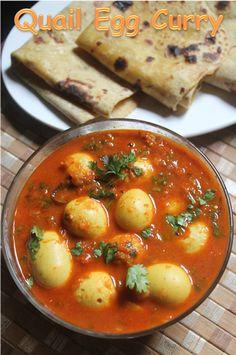 YUMMY TUMMY: Quail Egg Curry Recipe - Kaada Mutta Curry Recipe