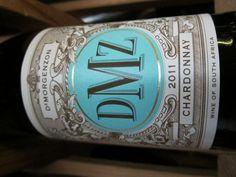 DMZ Chardonnay $14.99 Chardonnay Wine, South African Wine, Delicate, Bottle, Wine, Flask, Jars
