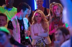 "This week on ""Faking It,"" Laverne Cox has to choose between Karma, Shane, Lauren and Oliver for who will be queen of the castle. Description from autostraddle.com. I searched for this on bing.com/images"