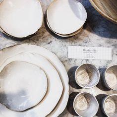 Raaka Rå tablewear shown in the design and interior fair Habitare. Food Styling, Dinnerware, Pottery, Plates, Ceramics, Tableware, Interior, Beautiful Things, Inspiration