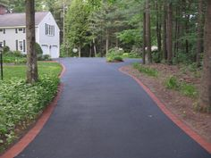 blacktop and paver driveway - Google Search
