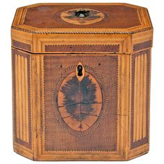 Antique Tea Caddy.