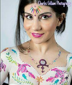 Otami inspired body art and bindi bling