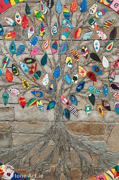Stone Art Blog: The Family Tree Mosaic