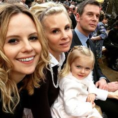 """Sarah Ramos and the fam. Haddie's been MIA for most of the season, but her moments with Adam, Kristina and little Nora in the finale made up for it. 