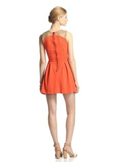 LaPINA Women's Brittany Fit-and-Flare Dress at MYHABIT