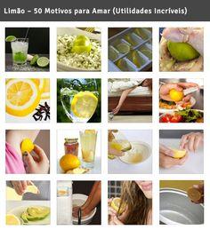 Limão – 50 Motivos para Amar (Utilidades Incríveis)