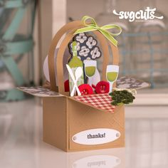 to buy Summer Box Cards SVG Kit picnic summer