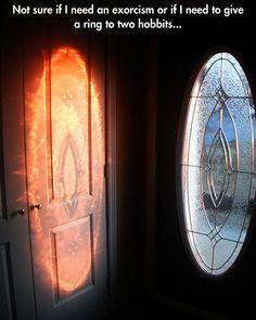 GEORGE & BRAD TAKEI Present: Team Takei — I'm Sauron something odd here. #LOTR...