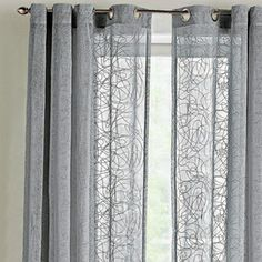 WholeHome CASUALTM MC Natures Way Faux Linen Grommet Panel