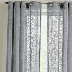 WholeHome CASUAL(TM/MC) U0027Natureu0027s Wayu0027 Faux Linen Grommet Panel