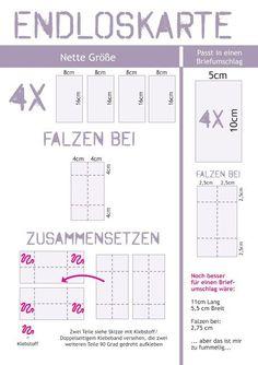 Mit Herz und Schere: Task for Two Tuesday #63: Endloskarte