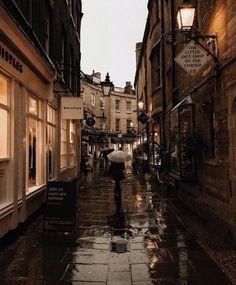 rainy aesthetic town / vintage architecture / cute city / cafe / comment for credit! / cambridge