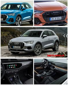 2019 Audi - HD images, Specs, Information and Videos - Dailyrevs Tortilla Flats, Digital Instruments, Compact Suv, Steak And Eggs, Audi Q3, Types Of Food, Hd Images, Specs, Sporty