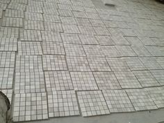 Grey Wooden Marble Mosaic Tile