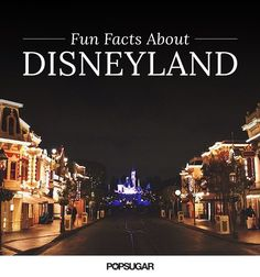 You think you know everything about Disneyland? Wrong. There's some mind-blowing facts out there that even the ultimate Disney fan doesn't know. In honor of the park's 60th anniversary this Summer, check out all the fascinating things we discovered about the happiest place on earth and test your knowledge. If you're dying for even more Disney, check out our posts full of cool tips and facts. . .