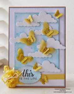 Fabulous card by Emma Williams using Brand New Simon Says Stamp from the This Is the Life release. July 2014