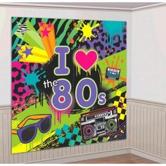 Amscan Awesome 80's Party Wall Scene Setter Decorating Ki... https://www.amazon.com/dp/B00DT56ZT8/ref=cm_sw_r_pi_dp_x_3B-Ayb7ZC2KNT