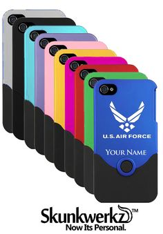 iPhone 4/4s Case/Cover US Air Force United States by CustomEtch, $13.95
