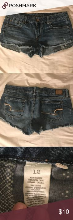 American Eagle Jean Shorts Just in time for summer! American Eagle Outfitters Shorts Jean Shorts