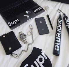 Hypebeast Room, Supreme Clothing, Supreme Wallpaper, Swag Outfits, Boy Outfits, Room Decor, Wall Decor, Wall Art, Street Wear
