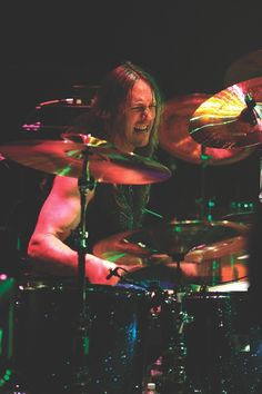 Danny Carey. The drummer for TOOL. His styling and precision is one of a kind.