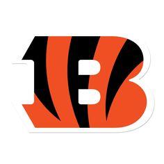 Cincinnati Bengals Decals Set of 2 Cornhole Board Decals 12 inch