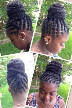 Short Dreadlocks Styles, Dreadlock Styles, Locs Styles, Blonde Dreadlocks, Dreads Girl, Dreadlock Hairstyles, Weave Hairstyles, Cool Hairstyles, Natural Hair Salons
