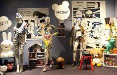 Selfridges & Co., London, July 2013: Love the use of Pop Art