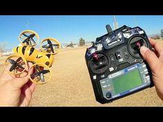 Eachine Fatbee FB90 Micro FPV Drone Flight Test Review