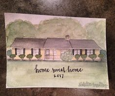 More 🏡 love • • • • #watercolour #watercolor #winsorandnewton #illustration #dailypainting #watercolorillustration #artist #art #artwork #painting #customart #commission #etsy #handmade #southernartist #georgiaartist #madeingeorgia #houseportrait #homeportrait #home #realestate #realtorlife #closinggifts #realtor  #christmas #gift #christmastime #artisan #localrealtors - posted by Natalie Bradley https://www.instagram.com/bradleycohome - See more Real Estate photos from Local Realtors at…