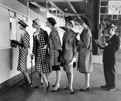 Womans fashion 1958