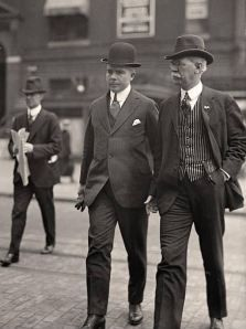 A História da Moda Masculina: Década de 1910
