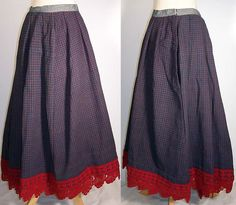 Cool Skirt And Blouse Styles Victorian Blue Red Plaid Wool Winter Petticoat Skirt Check more at http://24shopme.tk/fashion/skirt-and-blouse-styles-victorian-blue-red-plaid-wool-winter-petticoat-skirt/