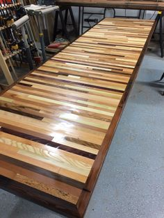 Dining table. Reclaimed lumber