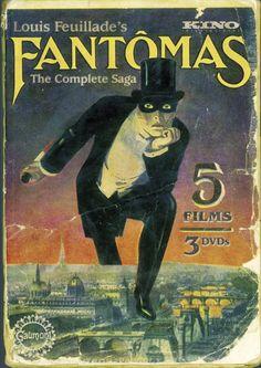 """""""Fantômas - À l'ombre de la guillotine"""" (1913) directed by Louis Feuillade"""