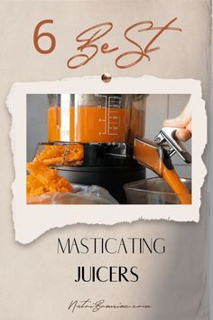 We help you find the best masticating juicer in our in-depth buying guide. Have you heard of masticating juicer benefits? These are the best juicers for yielding not only the most juice but also the most nutrients from your juicing recipes. And now they are more affordable than ever. Check out our top 6 picks for the best slow juicer. #masticatingjuicerbest #masticatingjuicerbenefits #bestjuiceringmachine #juicingforhealth #juicingonabudget #juicingforbeginners #healthandwellness Best Juicing Recipes, Healthy Juice Recipes, Juicer Recipes, Healthy Juices, Detox Juices, Blender Recipes, Health Recipes, Detox Drinks, Salad Recipes