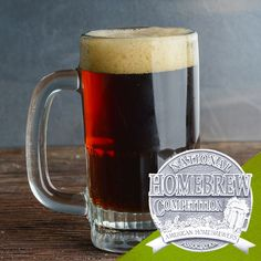 Mark Ranes of Turlock, CA won a silver medal in Category Amber & Brown American Ale during the 2018 National Homebrew Competition Final Round in Portland, OR. Ranes's American brown ale earned place among 266 entries in the category. Homebrew Recipes, Beer Recipes, Recipies, Beer Brewing, Home Brewing, Porter Beer, German Beer Steins, Ale Beer, Drink Holder
