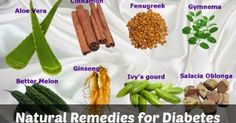 Here are some of the most common natural remedies for diabetes.