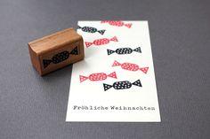 Bonbon, stempel von perlenfischer auf DaWanda.com
