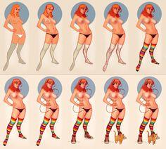 Rocka Rolla Woman step by step by Mancomb-Seepwood.deviantart.com on @deviantART