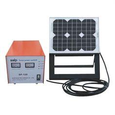 Sustentabilidade Energética Solar Termosolar e Eólica :  Gerador Fotovoltaico SolarSP-20/60-W   Pequeno g...